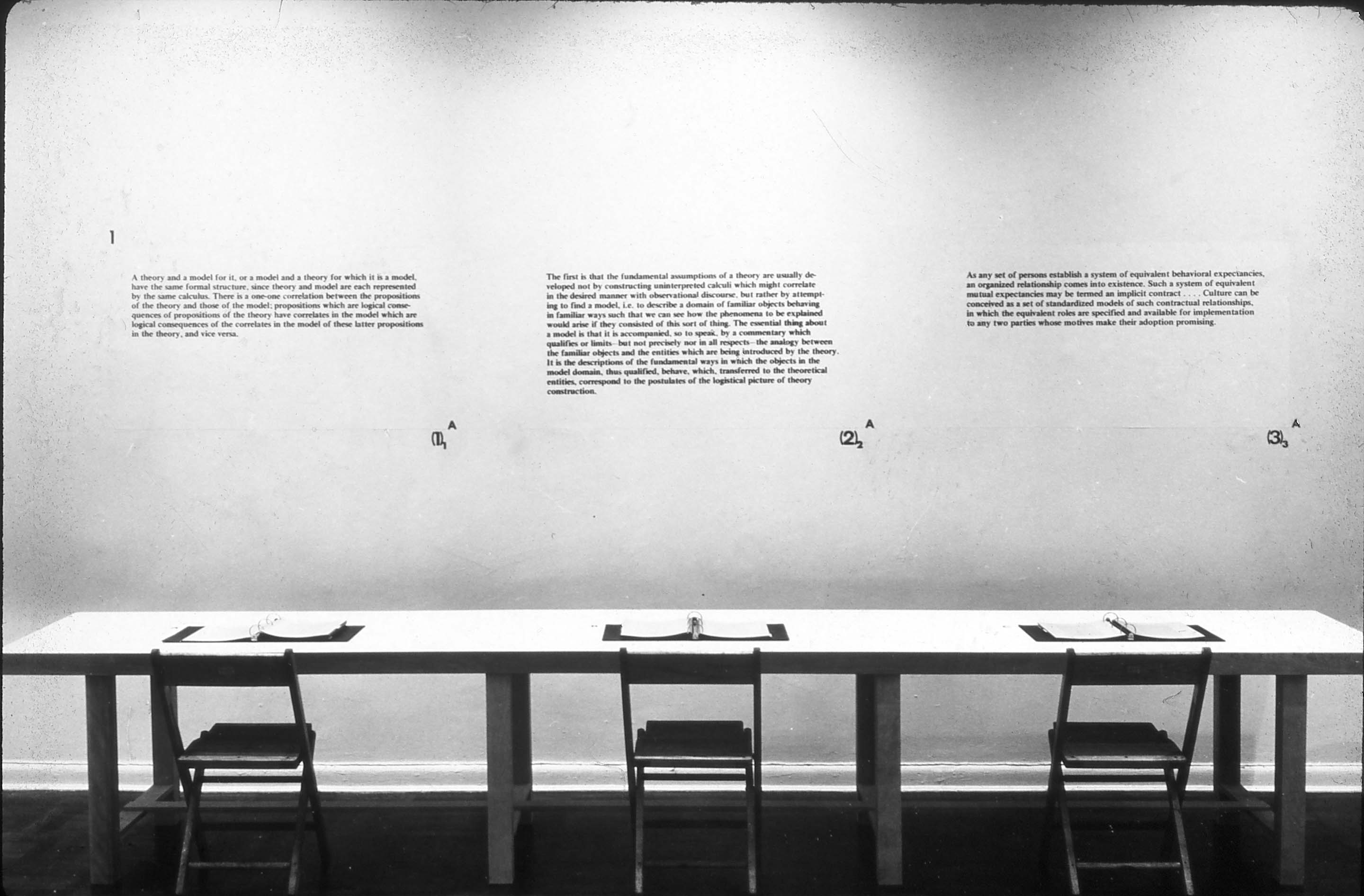 joseph kosuth on conceptual art Arts & letters neon statements by justin clemens joseph kosuth and  conceptual art at the beginning of the 1960s, the new york art scene was going  wild.